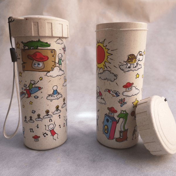 bamboo drinking cup